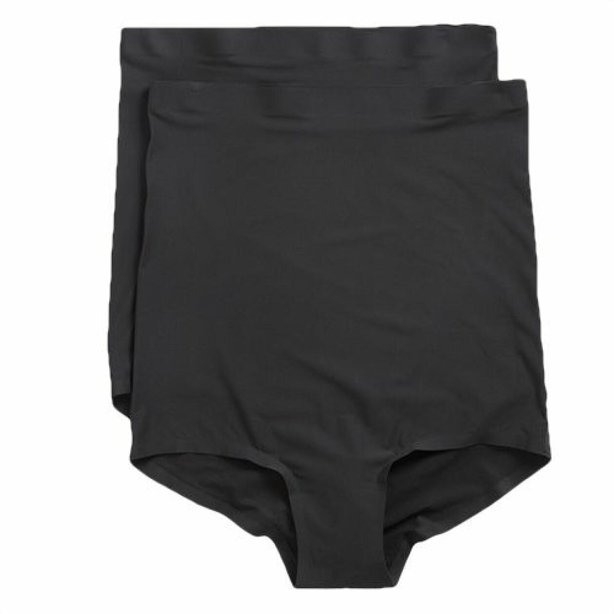 2-pack mammatrosor med hög midja och extra stretchig kvalitét från KappAhl