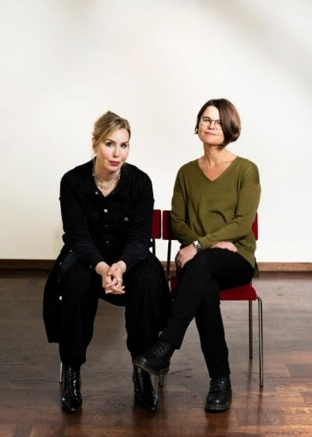 Anna Ehn och Leone Milton
