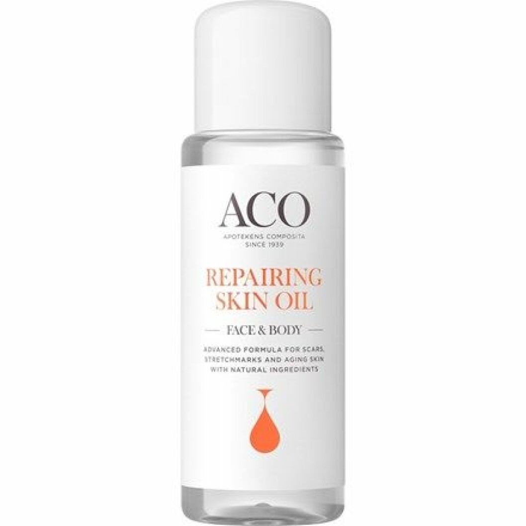 ACO Repairing Skin Oil Parfymerad 75 ml