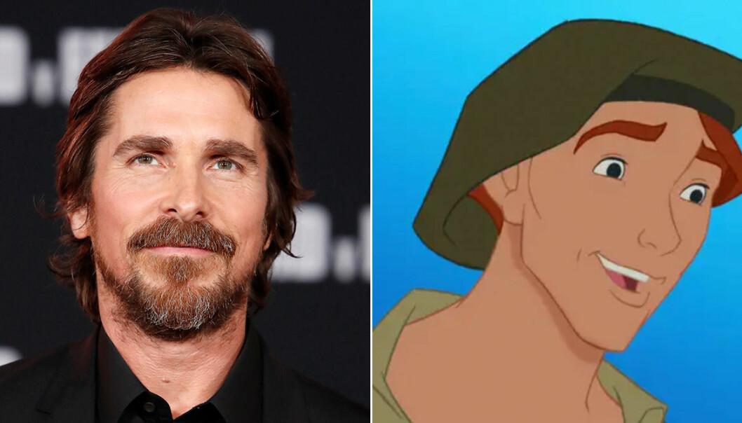 Christian Bale, som Thomas i Pocahontas (1995):