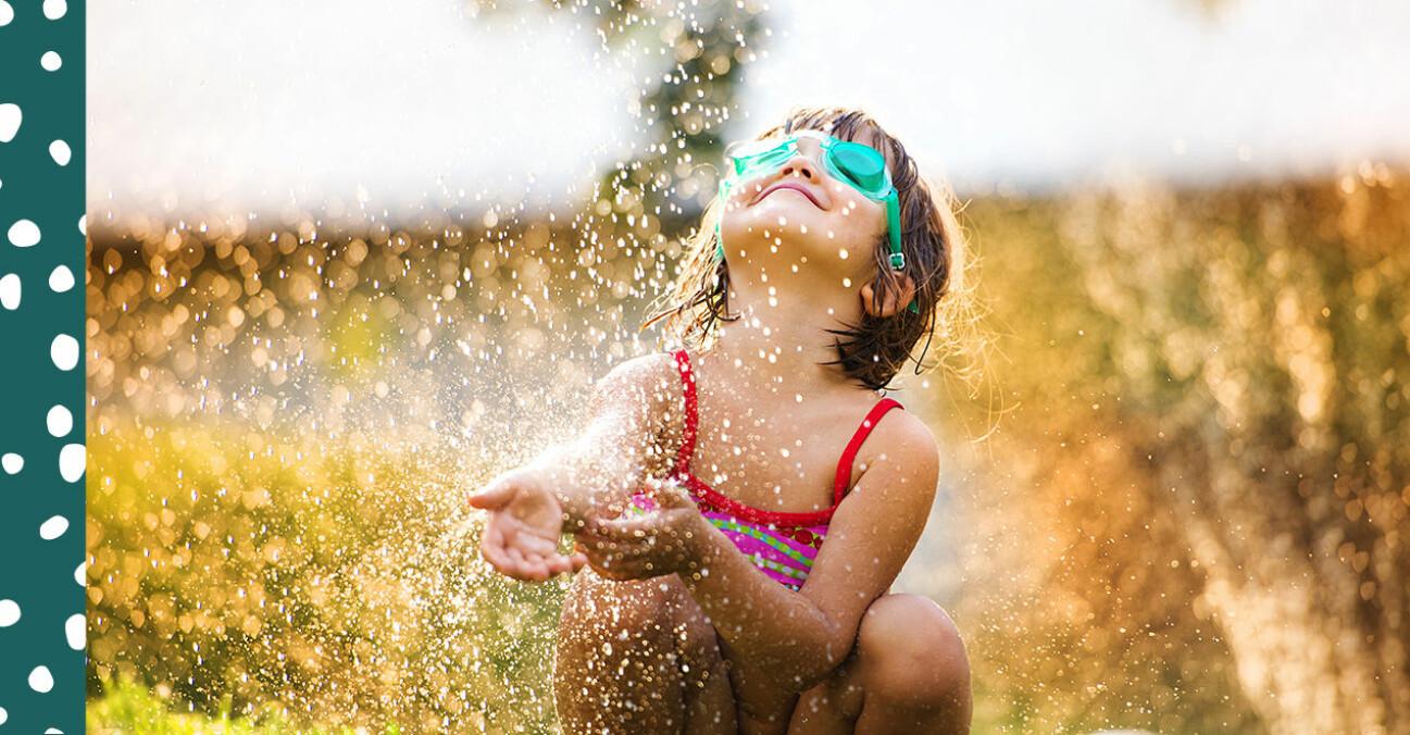 hur mycket vatten behöver barn dricka?SS