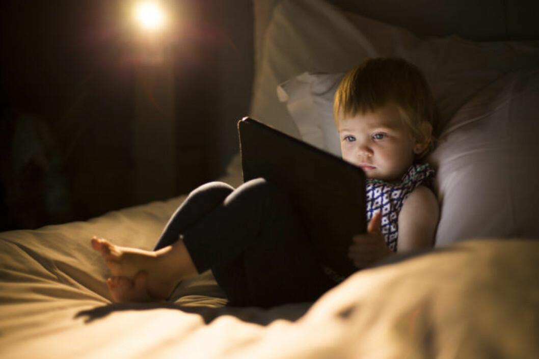 Barn och skärmtid - de är värsta riskerna