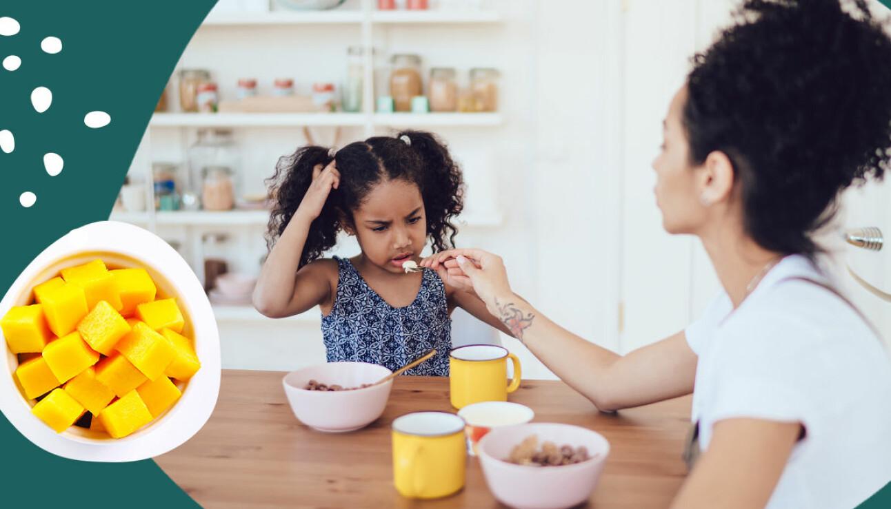 Barn som vägrar äta frukost