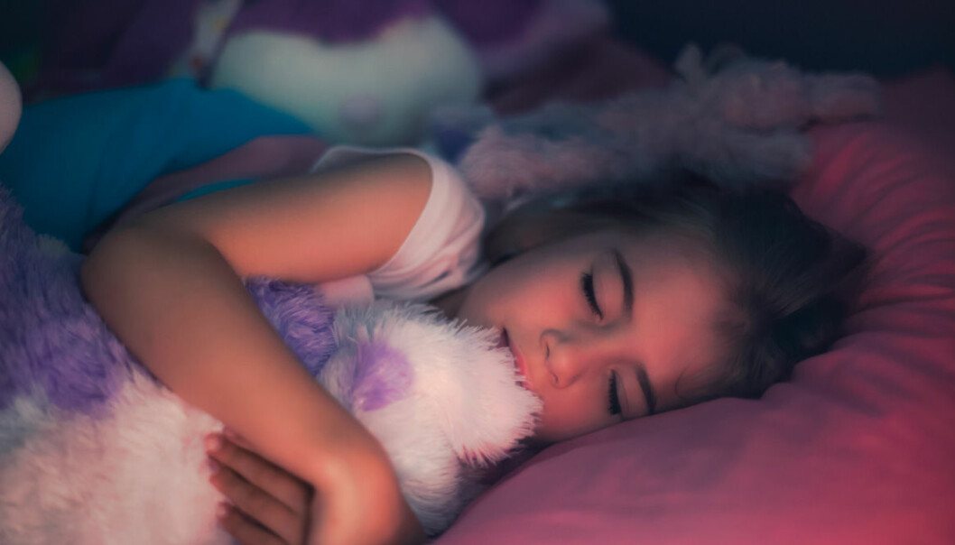 Barn som somnat gott