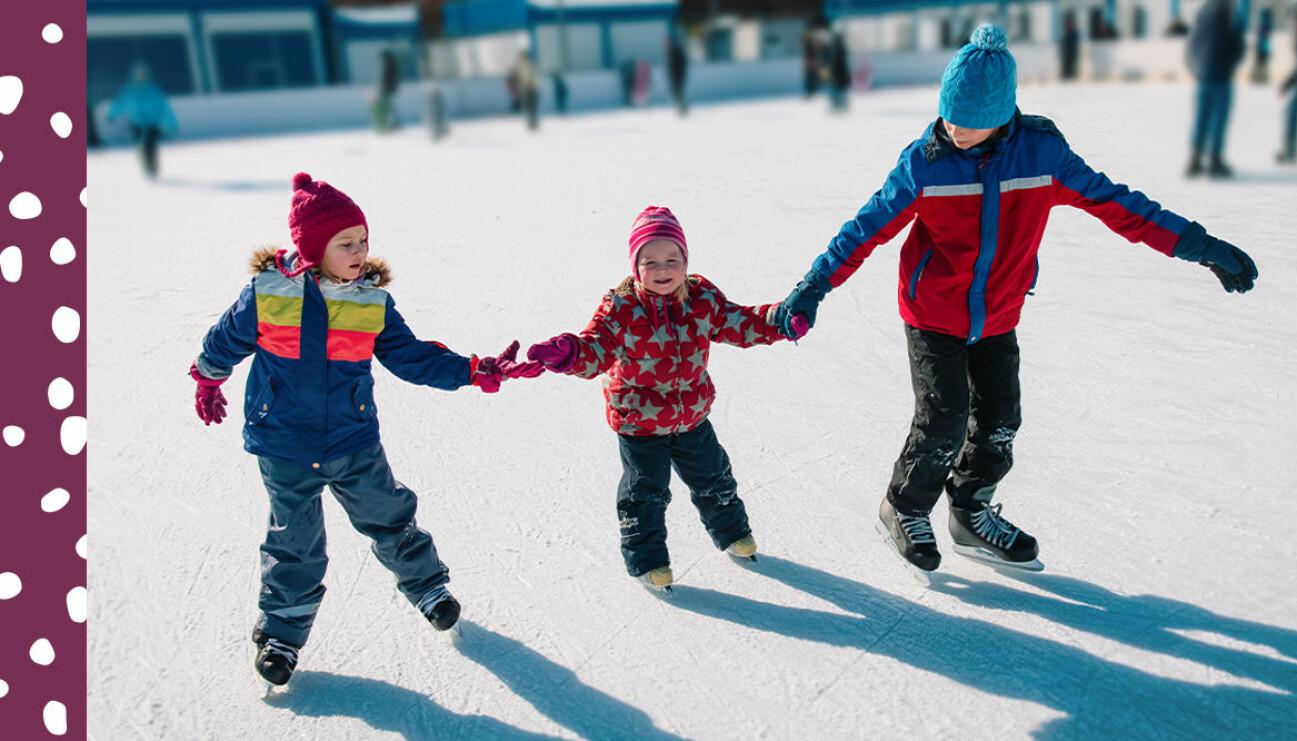 barn vintern