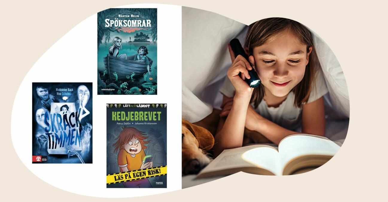 barnböcker för sommarlovsläsning