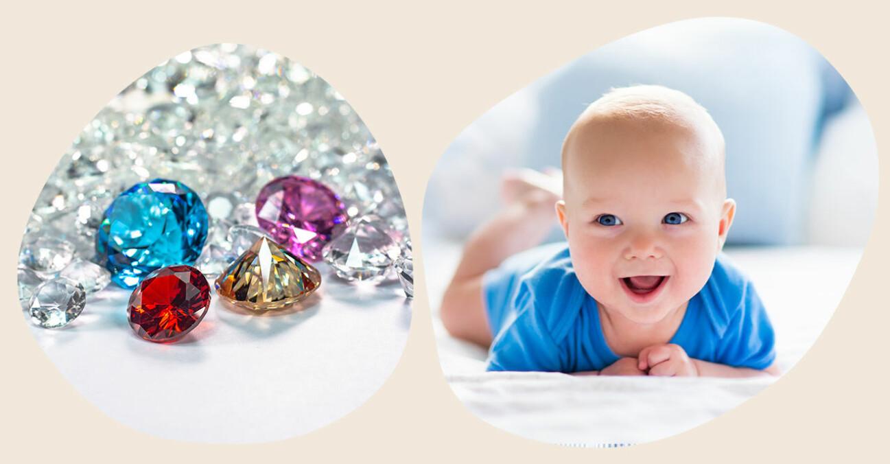 bebis och ädelstenar