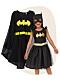 Batmandräkt vuxen och batmandräkt barn