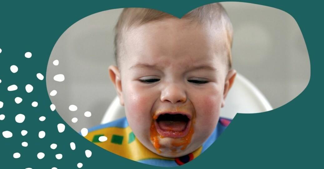 Bebis skriker