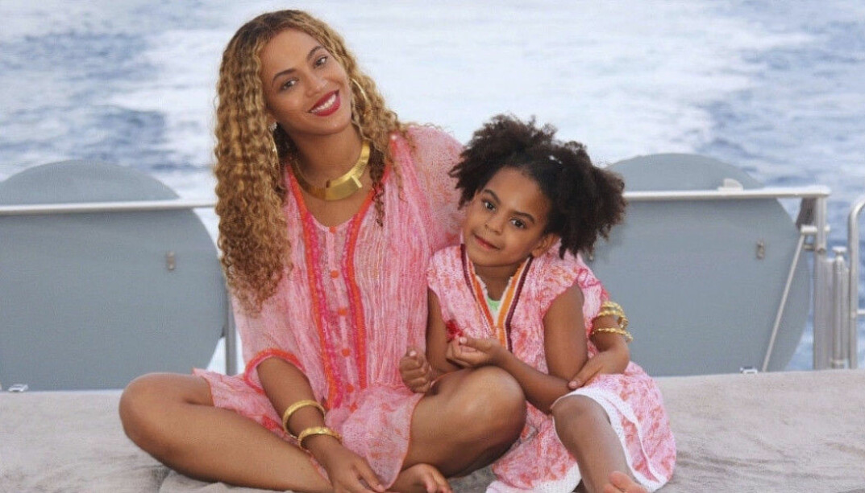 Beyoncé och dottern Blue Ivy