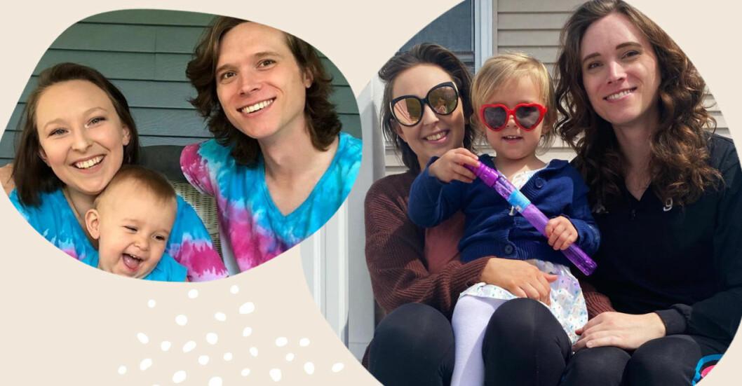 Taylor föddes som man men har alltid känt sig som kvinna. Hon har dottern Valerie tillsammans med sin fru Sarah.