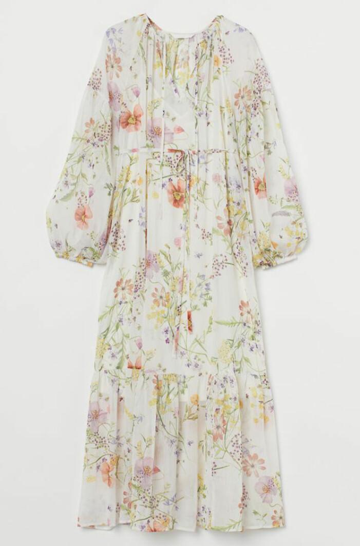 blommig gravidklänning