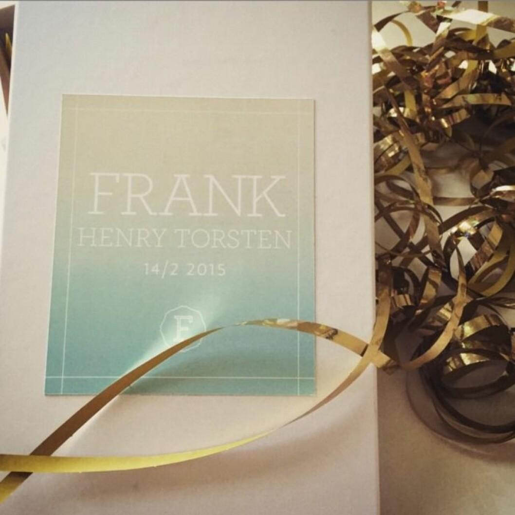 Frank fick mellannamnet Torsten