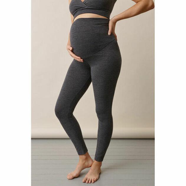 gravidtights i merinoull från Boob design