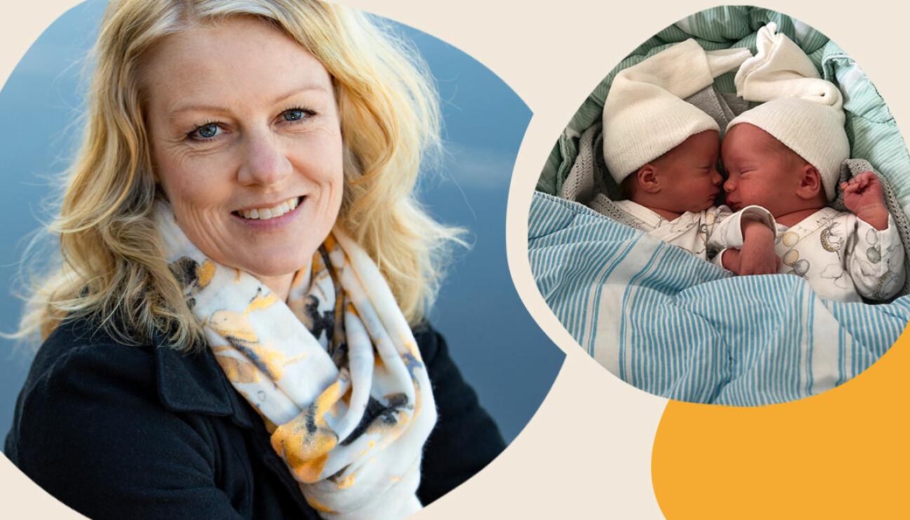 Emelie Ljungberg fick tvillingar med IVF
