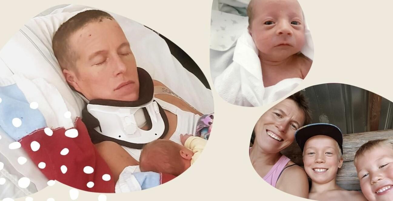 Emma fick dottern Wilma när hon låg i koma