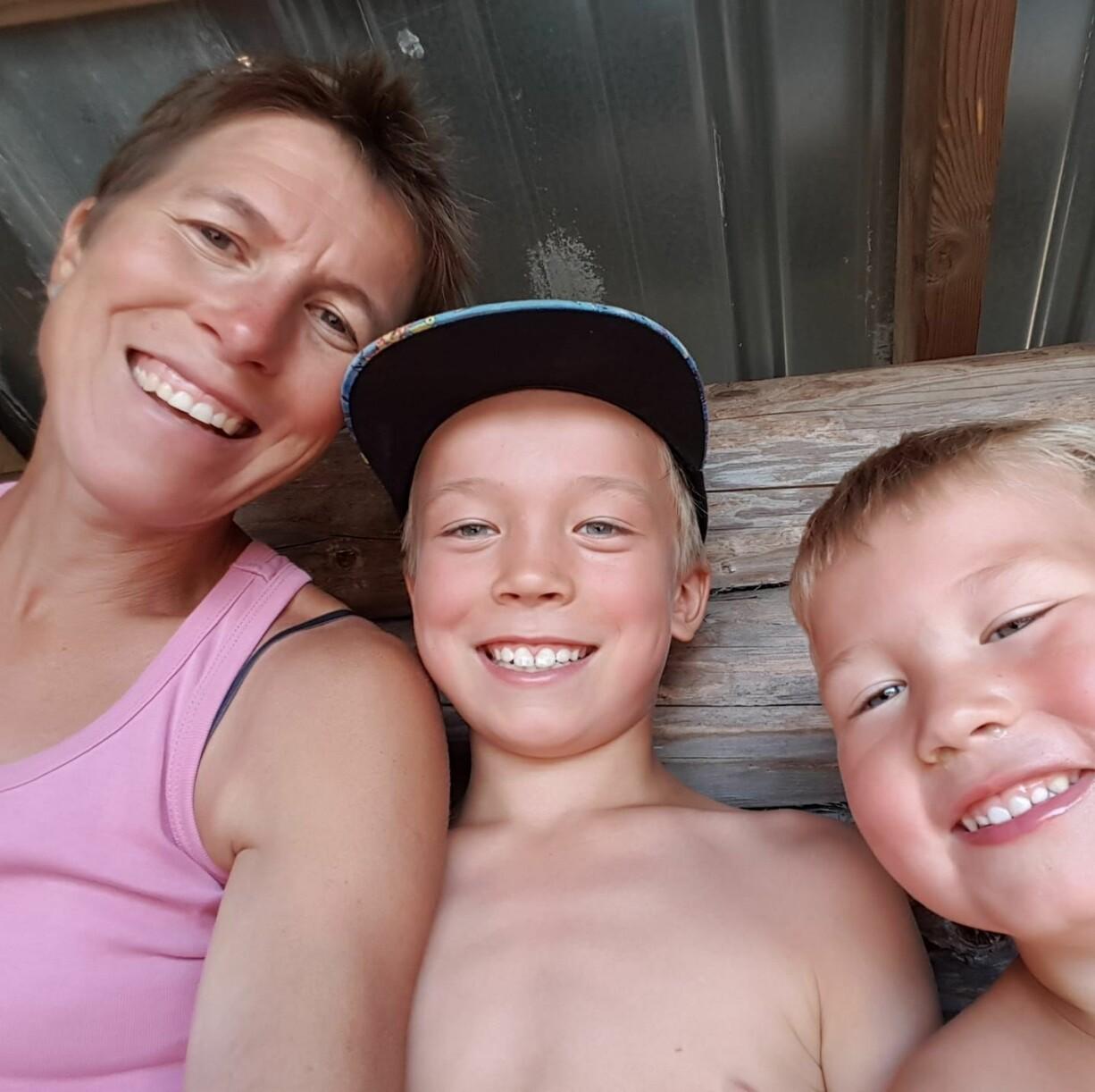 Emma och sönerna