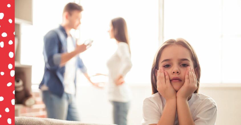 föräldrar som bråkar