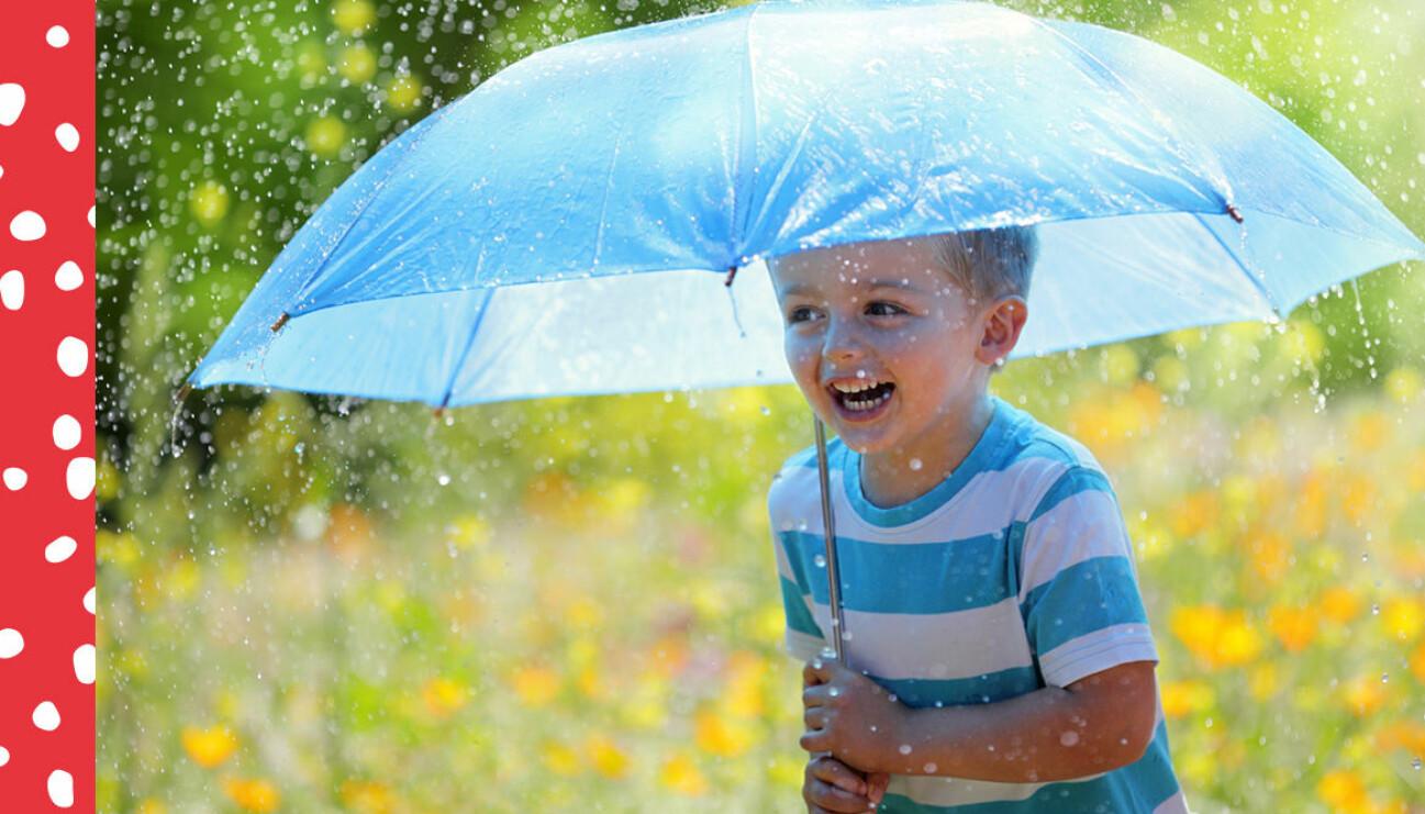 barn regn