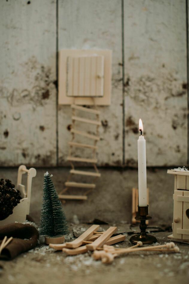 nissedörr julgran