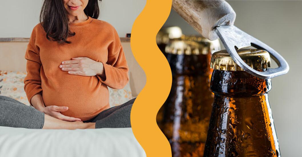 Livsmedelsverket uppdaterar råden om alkohol till gravida