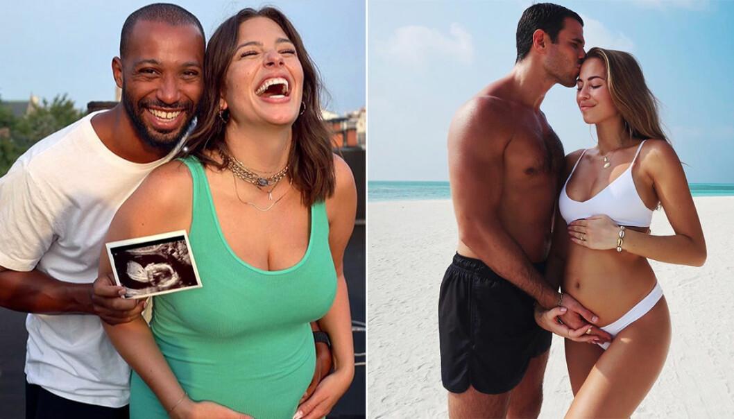 Kändisarna som hyllas för sina inspirerande gravidbilder