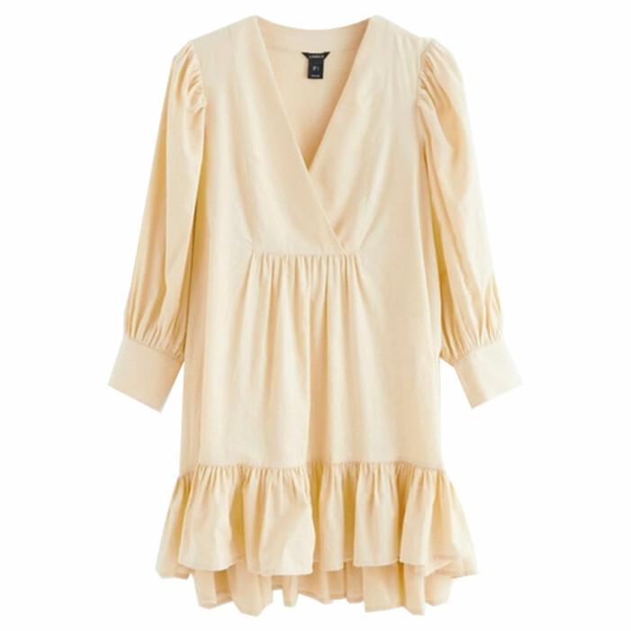 matchande gula klänningar till mamma och barn sommaren 2021
