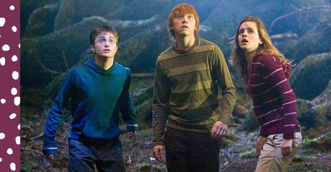 Harry Potter, Ron och Hermione