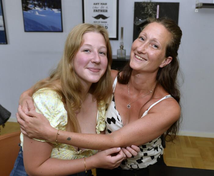 Filippa och mamma Anna