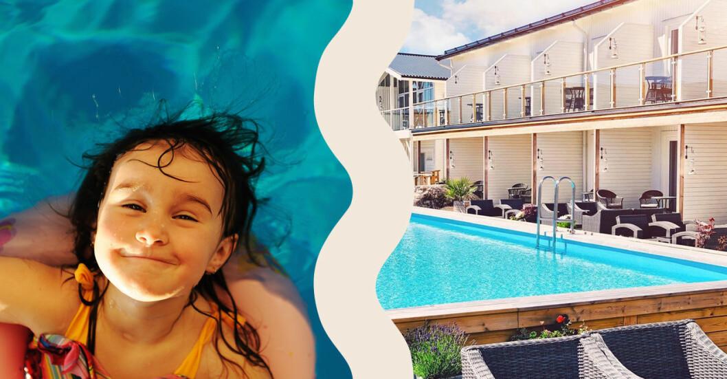 hotell med pool