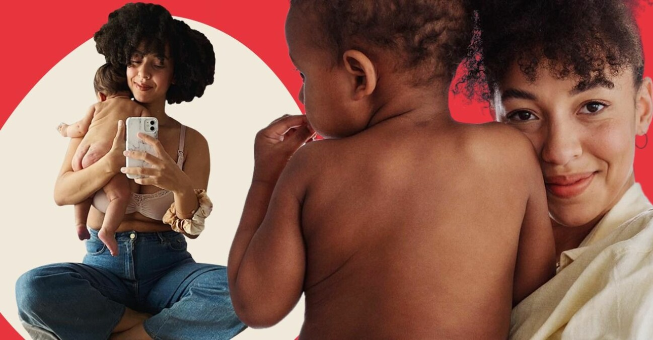 Asabea Britton ny bloggare på Motherhood