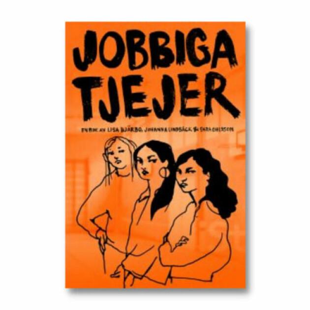 """Bild på boken """"Jobbiga tjejer"""""""