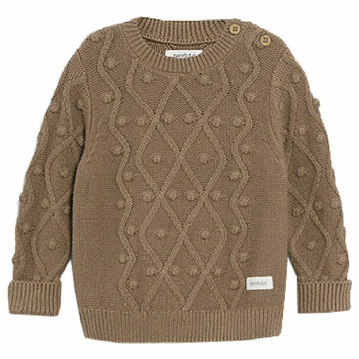 billiga och fina barnkläder - stickad tröja för bebis från Newbie