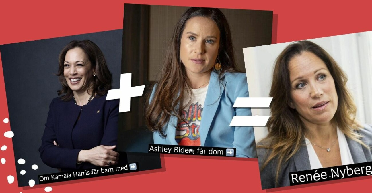 Kamala Harris + Ashley Biden = Renée Nyberg