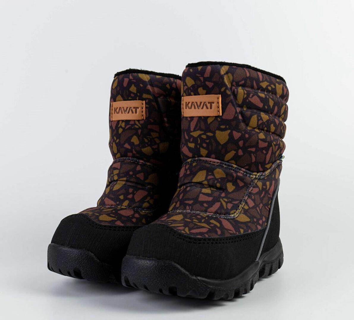 Mönstrad sko från kavat