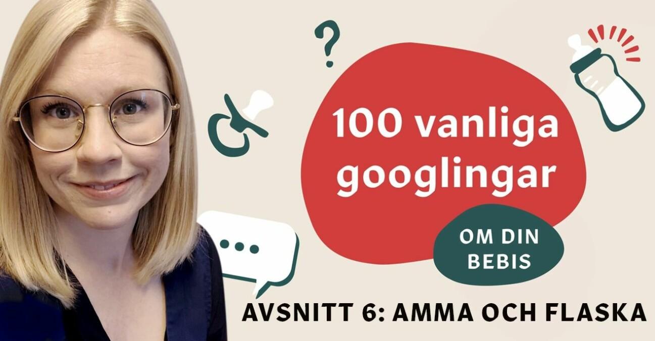 Specialistsjuksköterskan Kim Engqvist svarar på 10 vanliga frågor om att amma och flaska.