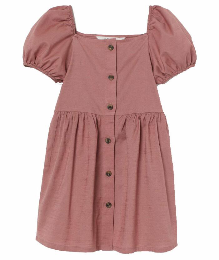 rosa klänning barn