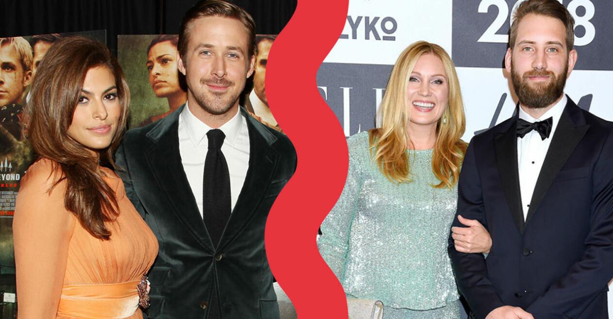Eva Mendes, Ryan Gosling, Jessica Almenäs och Patrik Fahlgren.