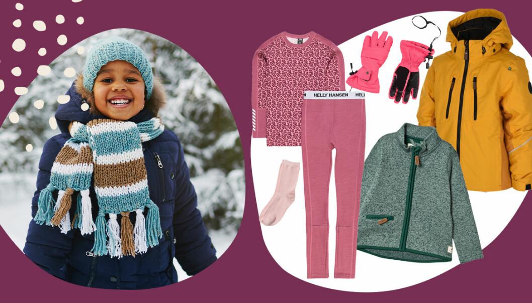 lager på lager kläder för barn