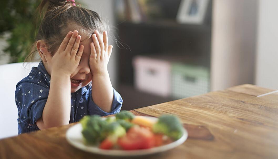 lära barn att äta grönsaker
