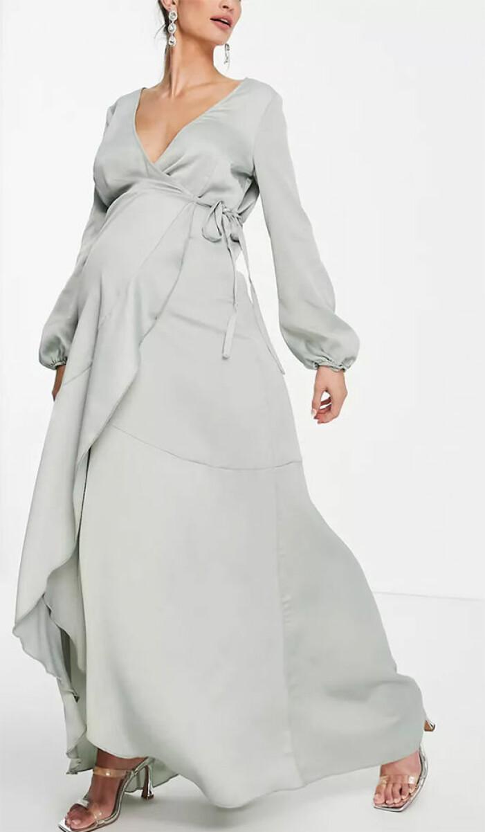 omlottklänning för gravida