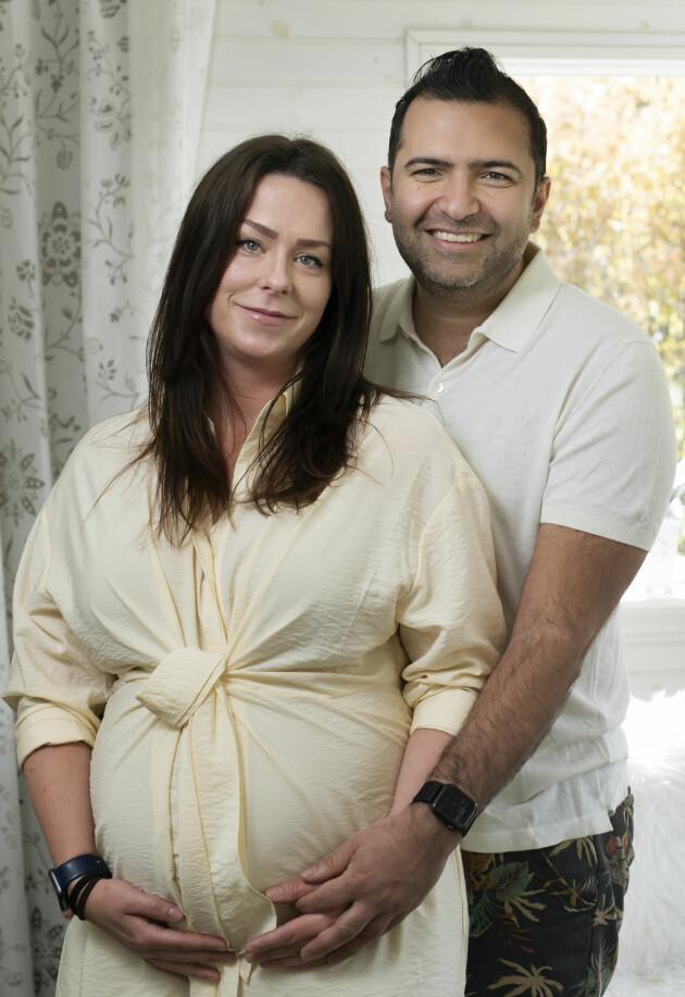Madeleine och Sina har kämpat i tio år för att få barn och lyckades till sist.