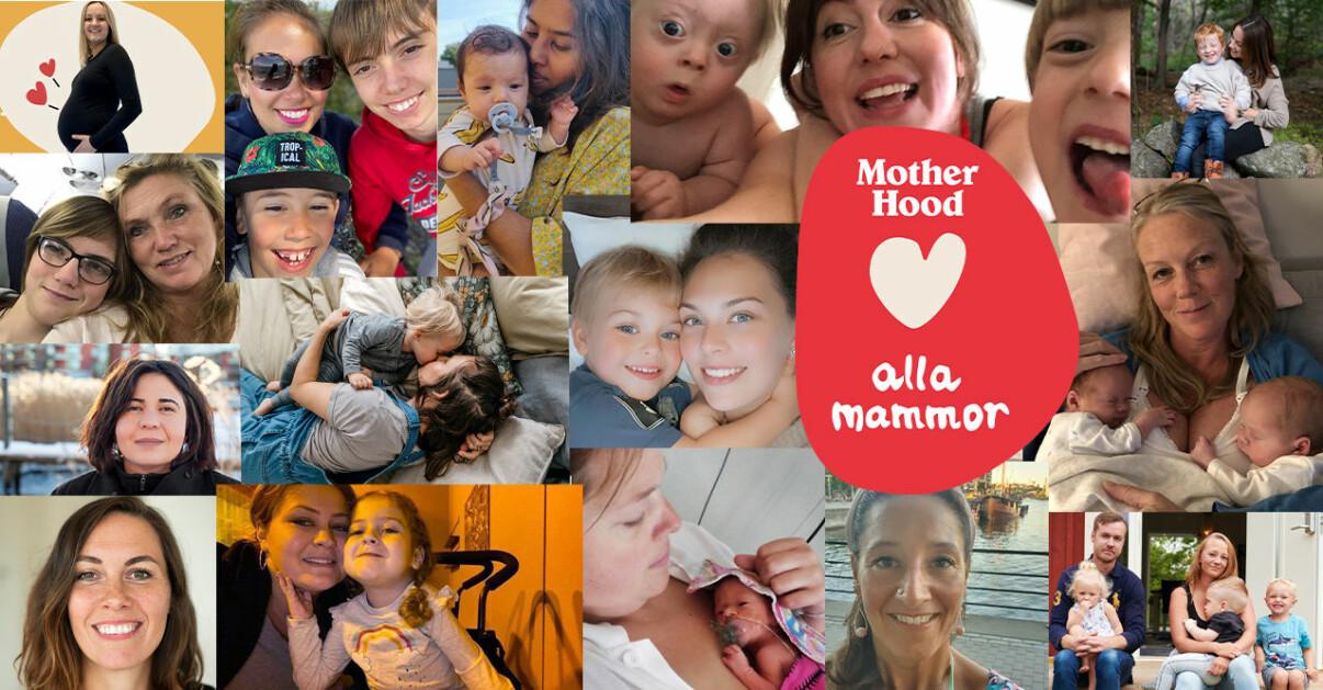 kollage mammor på motherhood
