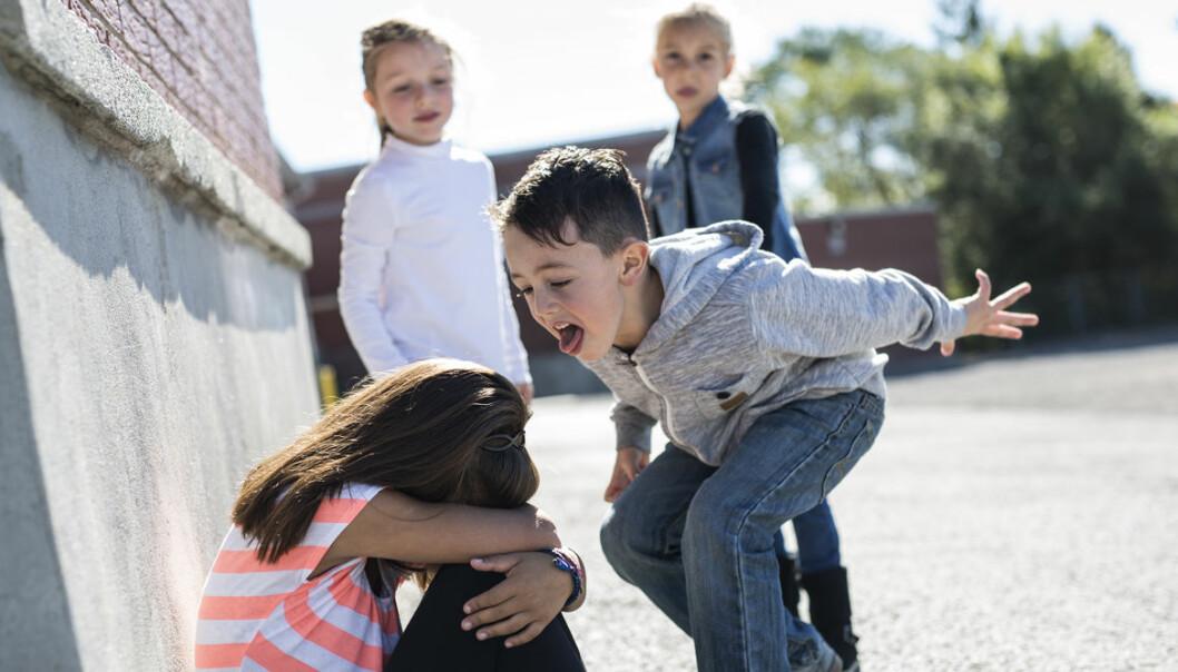 Varför blir vissa barn mobbare?
