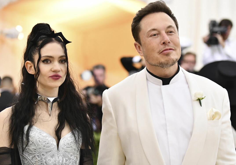 Grimes och Elon Musk