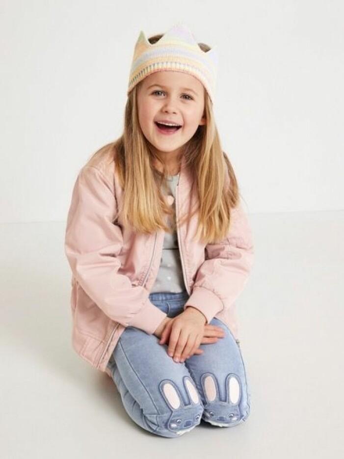 barnkläder i rosa