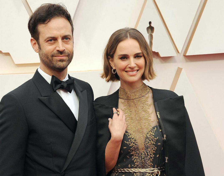 Benjamin Millepied och Natalie Portman