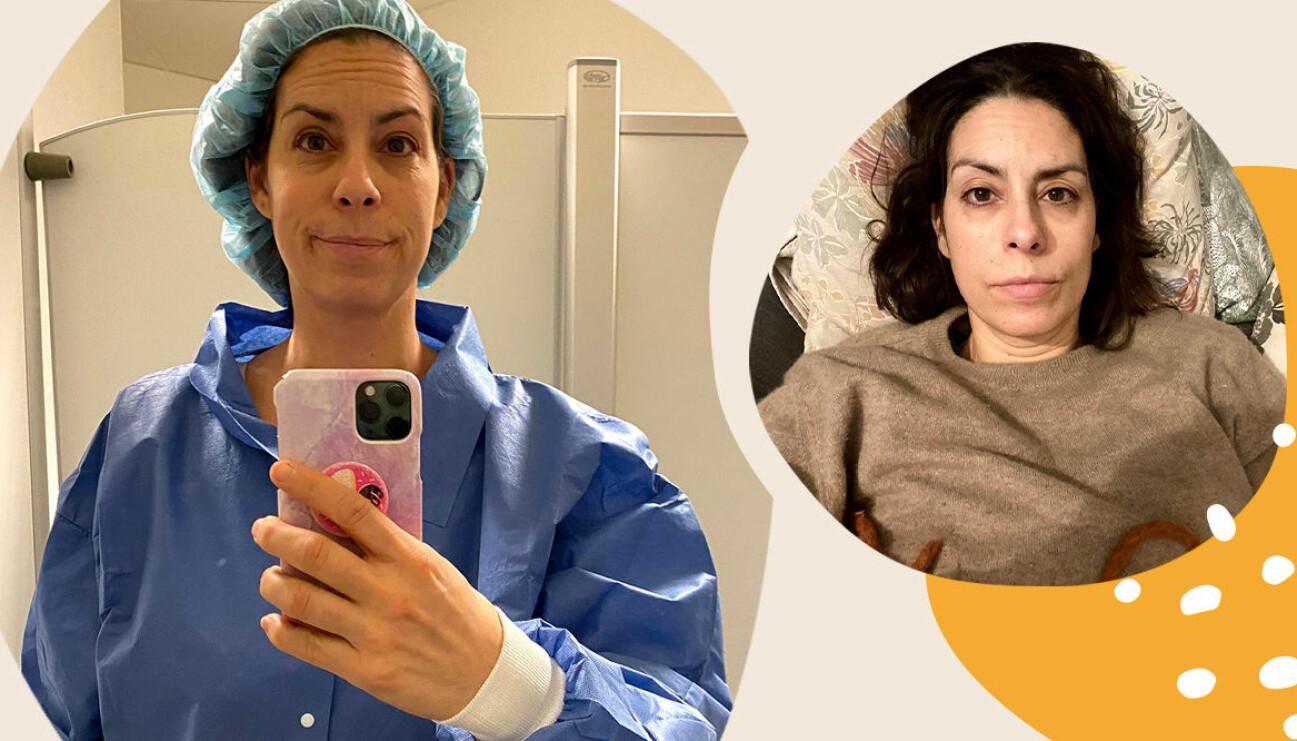 Nina Campioni om skrapningen och missfallet