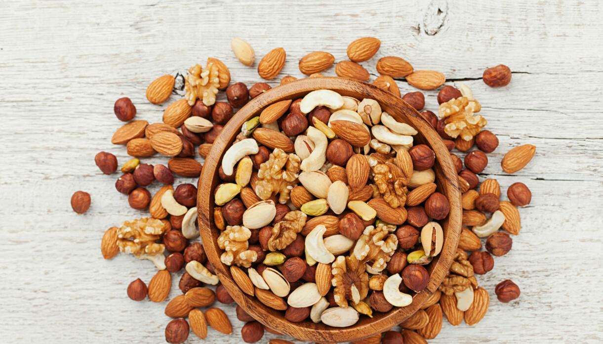 nötter och mandel