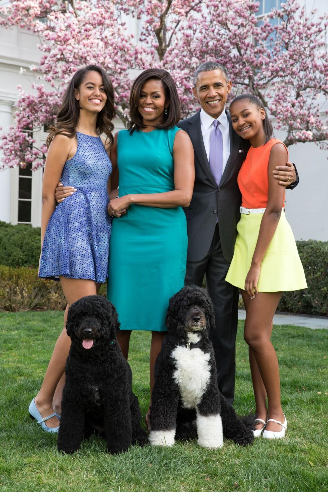 familjen obama